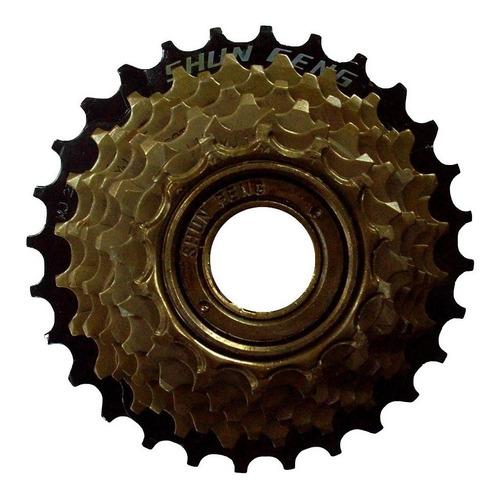 piñon standar 7 velocidades rosca 14-28 para bicicleta