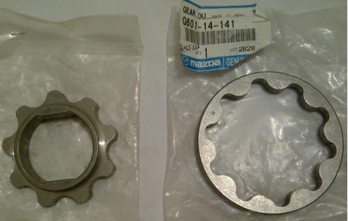 piñones o rotores bomba aceite mazda bt50 y b2600