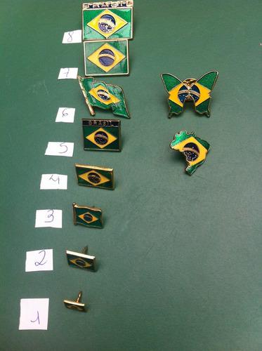 pins da bandeira do brasil