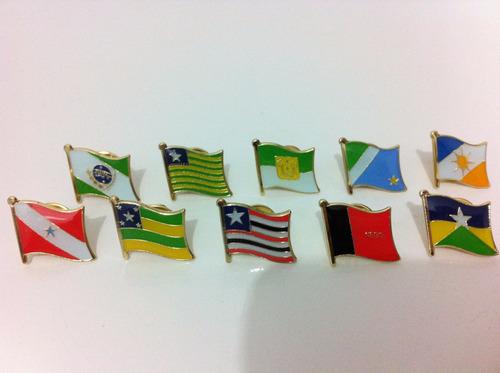 pins das bandeiras dos estados brasileiros
