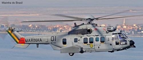 pins de helicópteros ec725 - super cougar- 3d dourado