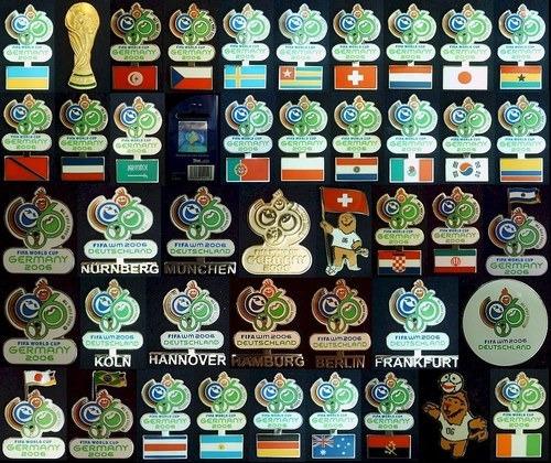 pins mundial 2006,futbol,pin,original, alemania