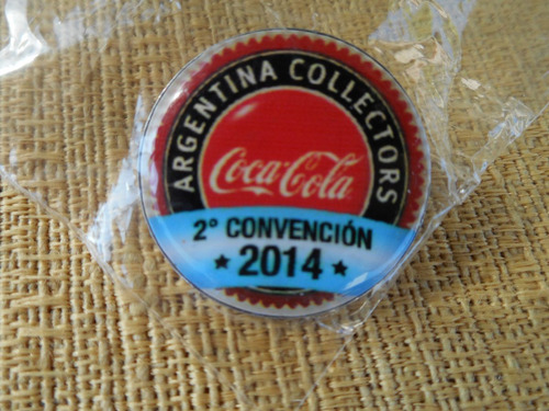 pins segunda convención coca cola 2014 argentina coleccionab