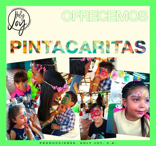 pintacaritas, recreación y más para fiestas infantiles