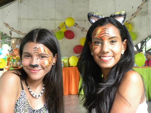 pintacaritas, recreación y pantomima para fiestas infantiles