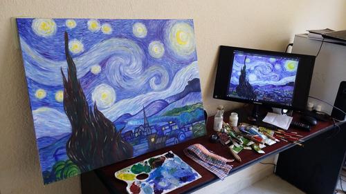 pintamos cuadros clásicos, modernos o de tu pintor favorito