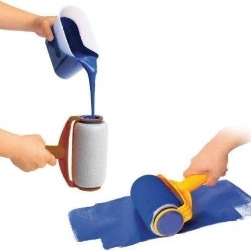 Pintar facil kit pintura para pintar parede rolo casa - Pintar facil paredes ...