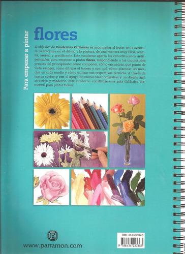 pintar flores. pintar con acrílico. libros en físico, nuevos