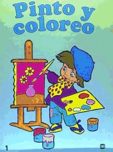 pinto y coloreo, 1(libro )