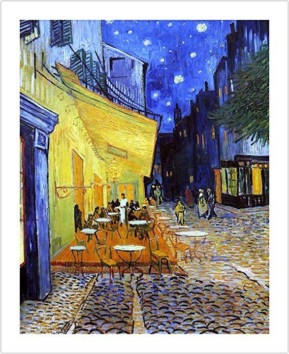 Pintoo H1762 Vincent Van Gogh Terraza De Café Por La Noche P