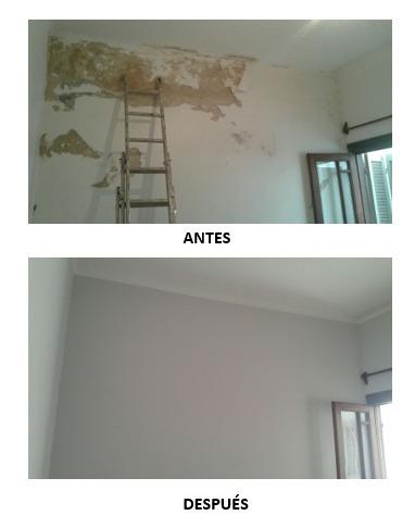pintor de casas, apartamentos, enduido, impermeabilización,