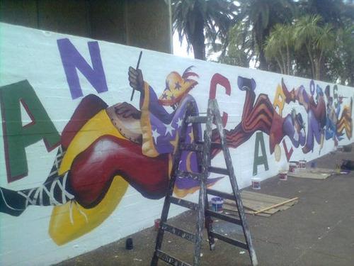 pintor de letras y diseños