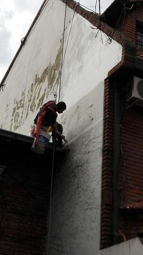 pintor en altura, silletero profesional, pintor de casas.