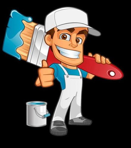 pintor profesional, servicio de mano de obra!