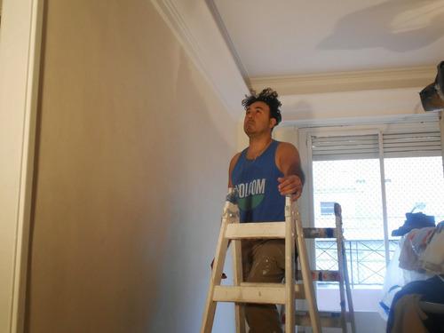 pintor profesional, y empapelador, durlock,patina molduras.