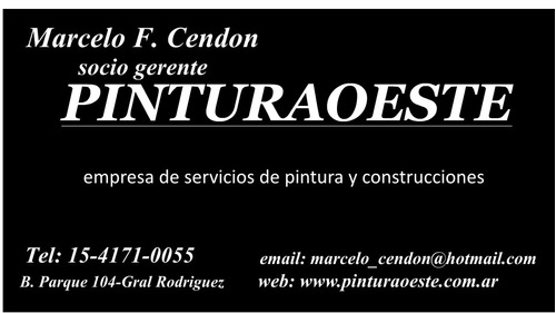 pintor profesional  zona oeste, norte y capital federal