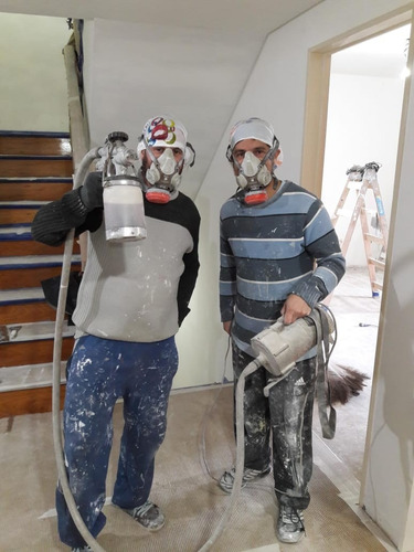pintores profesionales, prolijos, responsables, eficientes.