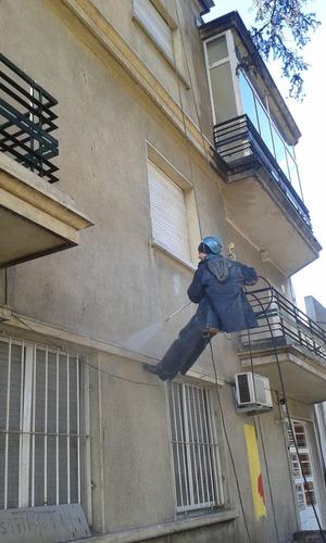 pintores,trabajos en altura, fachadas, edificios, industria