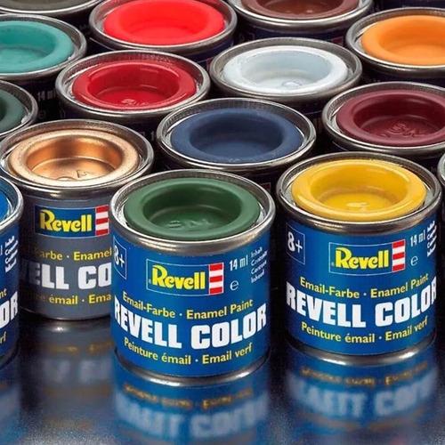 pintura 14ml (enamel) revell 30000 - consultar por colores