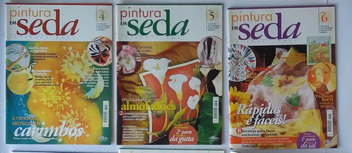 pintura a óleo em seda internacional ciclo 99 ( 8 revista)