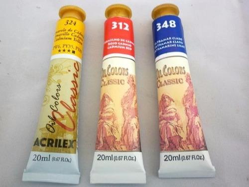 pintura acrilica acrilex de 20 ml en pomo