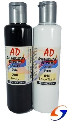 pintura acrilica ad 120 ml. serviciopapelero