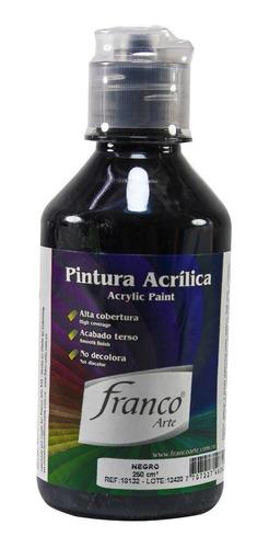 pintura acrílica al frió franco arte colores surtidos 250 ml
