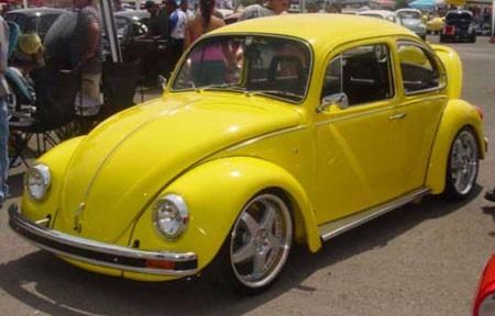pintura acrílica automotriz amarillo limon vp 1/2 galón