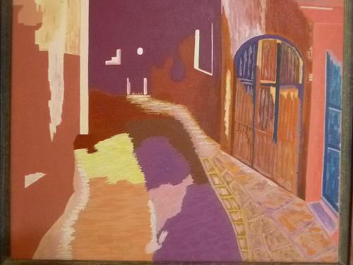 pintura acrilica  nocturno