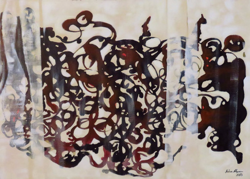 pintura acrílica, tela 5