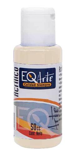 pintura acrílico manteca decorativa eqarte 50cc - cc