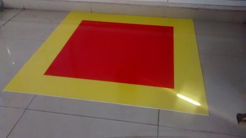pintura adesiva chão extintor de incêndio