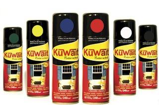 pintura aerosol antioxido al cromato kuwait x 240cc - 12 un.