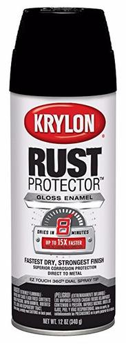 pintura aerosol antioxido texturado krylon 340gr. - 3un.
