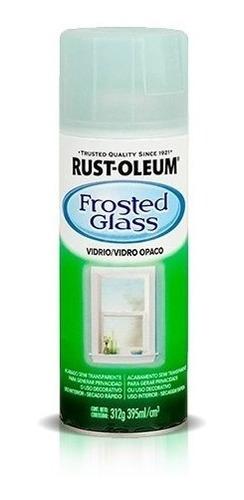 pintura aerosol esmerilado vidrio transp. 340gr rust oleum