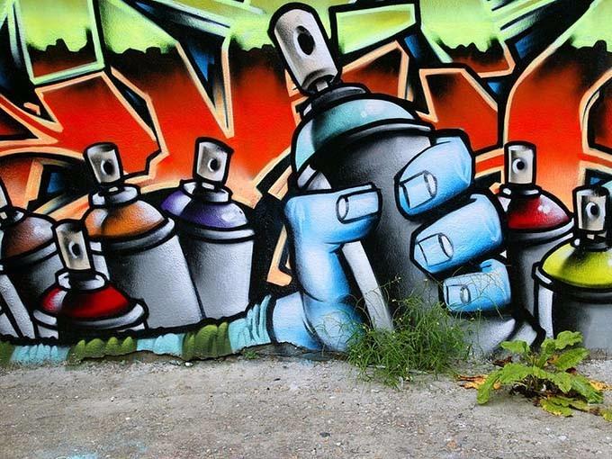 Pintura aerosol graffiti profesional mate - Pintura con spray ...
