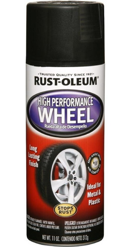 pintura aerosol llantas wheel grafito 312gr rust oleum