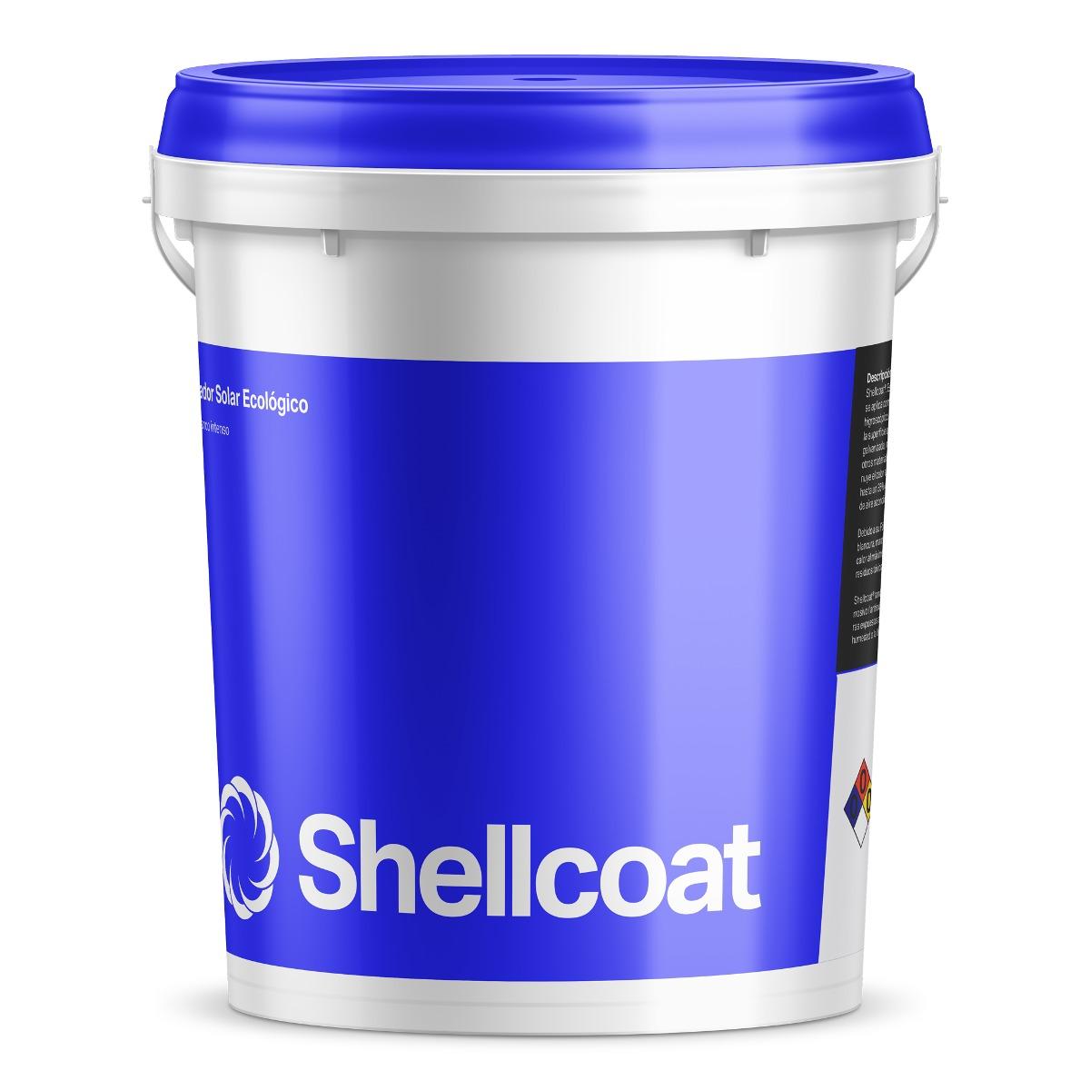 Pintura aislante t rmico para techos y paredes shellcoat - Mejor aislante termico para paredes ...