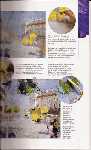 pintura al acrilico. guía para principiantes. libro parramón