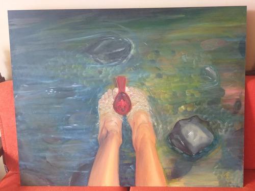 pintura al oleo 70 x 90