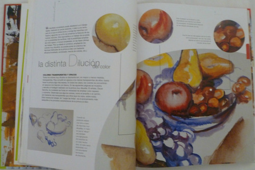 pintura al oleo. aula de pintura. libro parramón