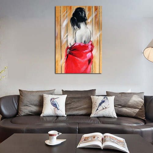 pintura al óleo cuadros lienzo pintado sala de estar arte de