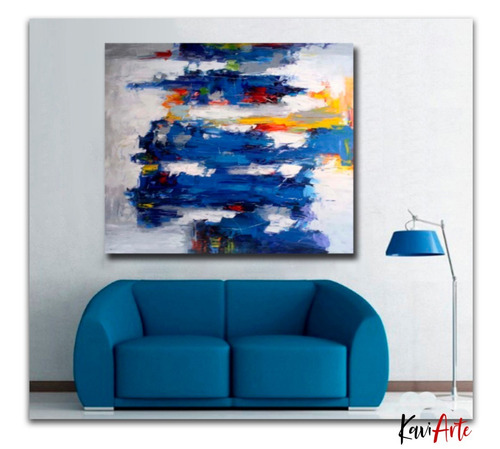 pintura  al oleo cuadros para sala hogar
