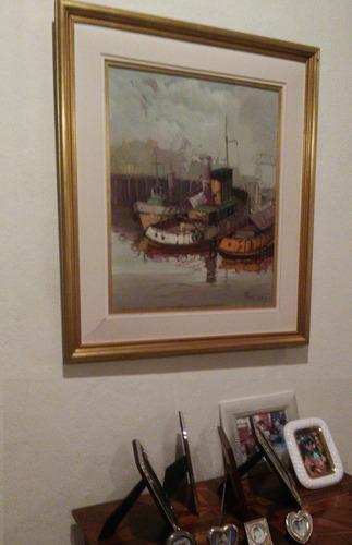pintura al óleo del pintor argentino alberto tomás gini