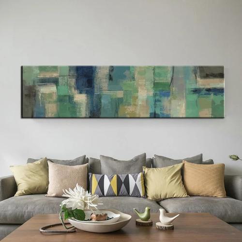 pintura al óleo impresa en lienzo 50x150cmx1