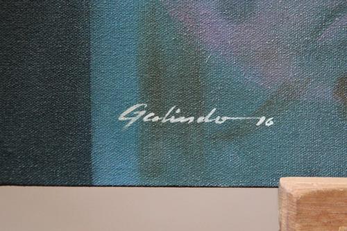 pintura al oleo, mujer desnuda, bastidor 100x60cm
