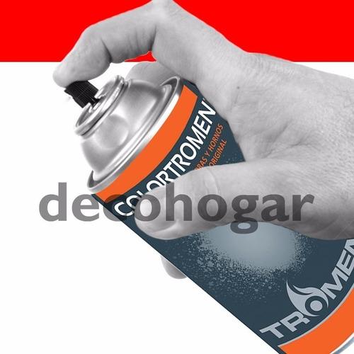 pintura alta temperatura aerosol negro tromen 260cc cuotas