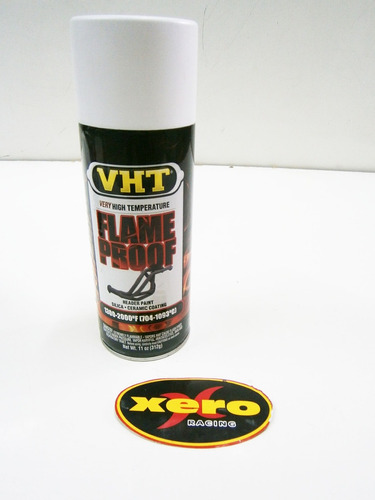 pintura alta temperatura escapes motos-autos vht flame proof made in usa en xero racing
