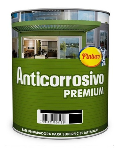 pintura anticorrosiva gris 507 1/4 galon pintuco