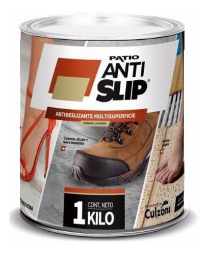 pintura antideslizante multisuperfice rinde 8m2 para pisos